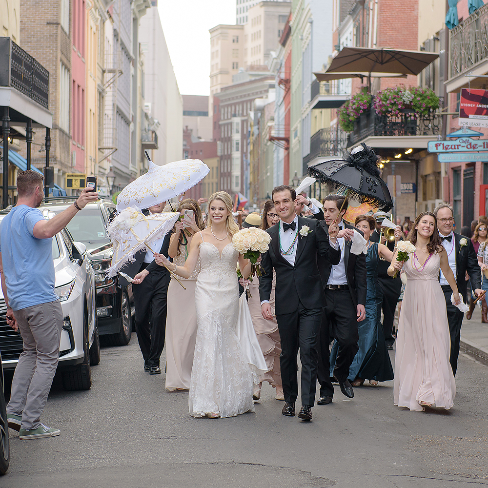 New Orleans Immaculate Conception and Roosevelt Wedding   William & Christina