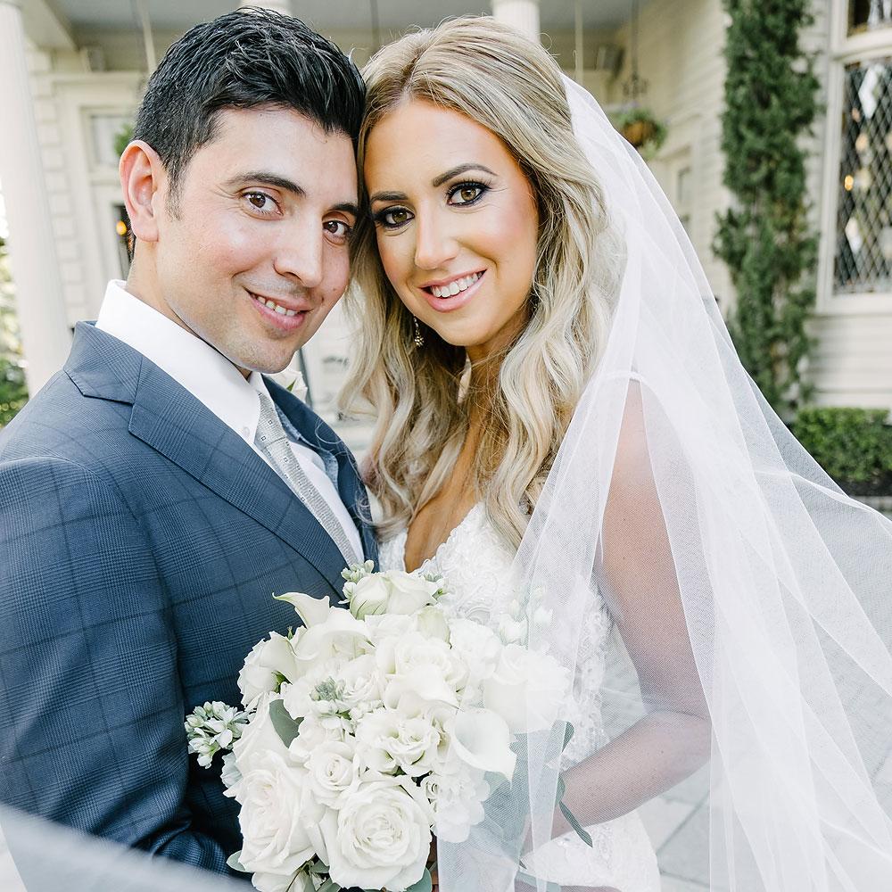 Elms Mansion Wedding Reception Photographer | Vincent & Carley