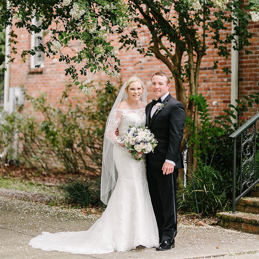 St. Matthew & Balcony Covid rescheduled wedding | Alexis & James