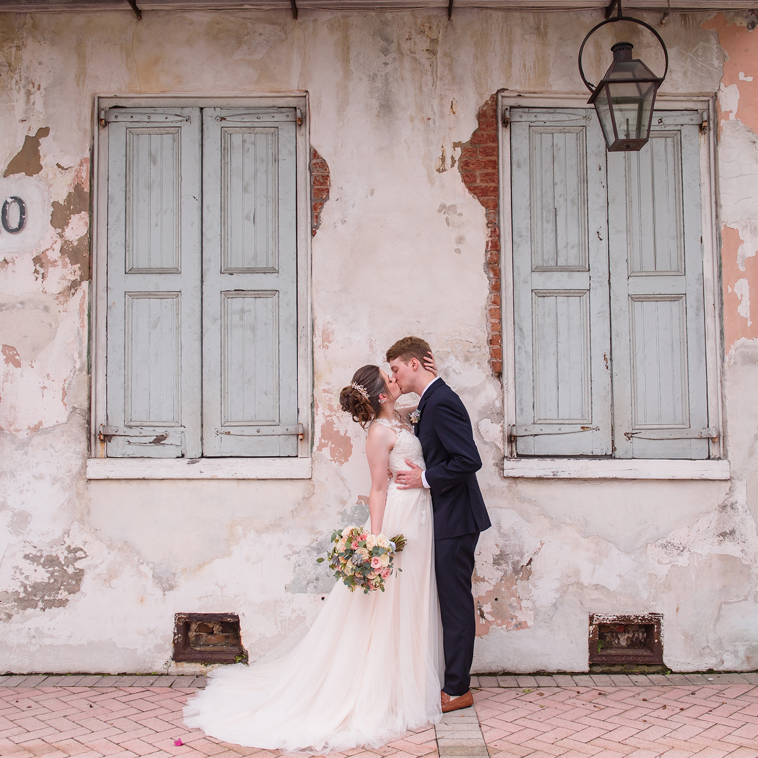 Intimate New Orleans Summer Wedding| Connor & Jacqueline