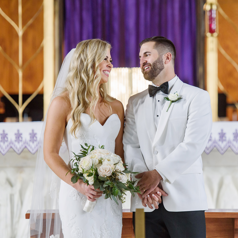 Beautiful Wedding and Fun English Turn Reception   Shelby & Chuck